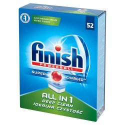 TABLETKI DO ZMYWAREK FINISH ALL IN ONE (52)