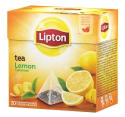 HERBATA LIPTON PIRAMIDKA LEMON ( 20 )