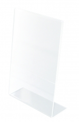 Podstawka z plexi Q-CONNECT, 100x150mm, transparentna