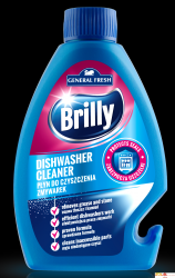 Płyn do czyszczenia zmywarek BRILLY 250ml GENERAL FRESH