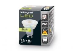 GU10 Glass PAR16 3.6W (35W) 2700K 260lm Non-Dimmable Lamp