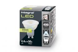 GU10 Glass PAR16 4.4W (50W) 4000K 400lm Non-Dimmable Lamp